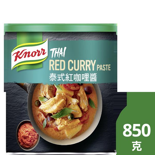 康寶泰式紅咖哩醬 - 康寶泰式紅咖哩醬,由新鮮泰式辛香料製成,道地風味,容易使用